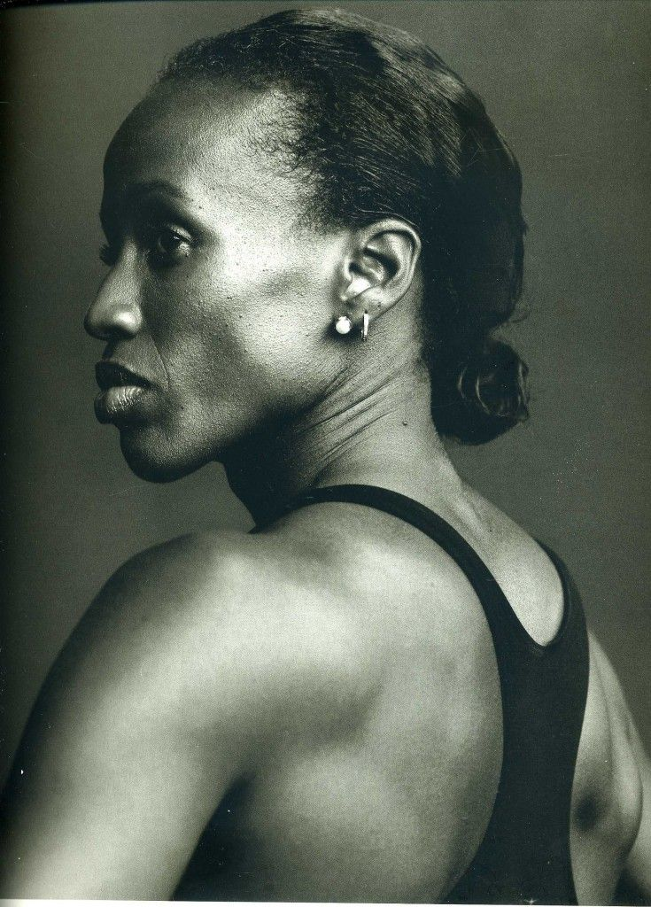 .Arguably the best female athlete ever- Jackie Joyner-Kersee. By Annie Liebovitz