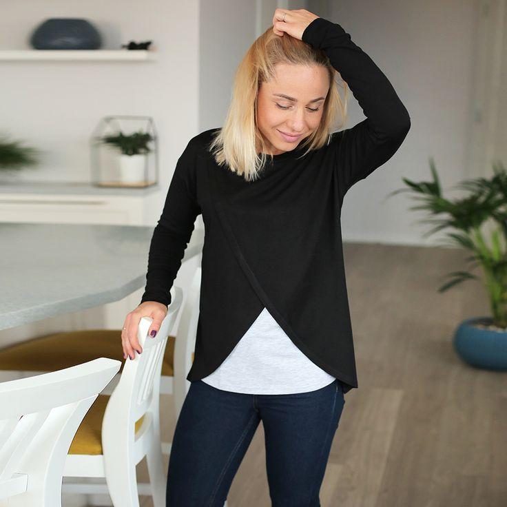 ✅Топ с запaхом для беременных и кормящих Уютный топ для беременных из ультра-мягкой вискозы невероятно приятный к телу и легко комбинируется с джинсами, брюками чиносами или спортивными штанами. Что бы ты ни выбрала, топ для беременных можно носить на протяжении всей беременности. После рождения малыша, такой топ станет удобной одеждой для кормящих. Благодаря скрытому доступу, футболка для кормления очень удобна для налаживания лактации, ведь малыша можно незаметно покормить в любой…