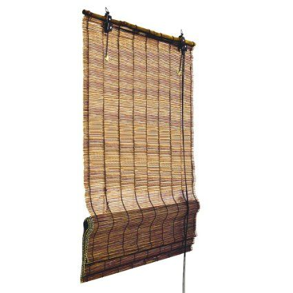 Bamboo Roman Shade Window Blind 120 Cm Wide 160 Cm Long