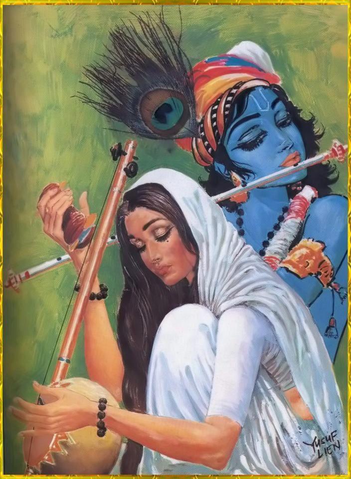 Krishna n Mirabai