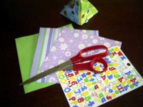 Origami bambini semplici: istruzioni per la scatola dei segreti