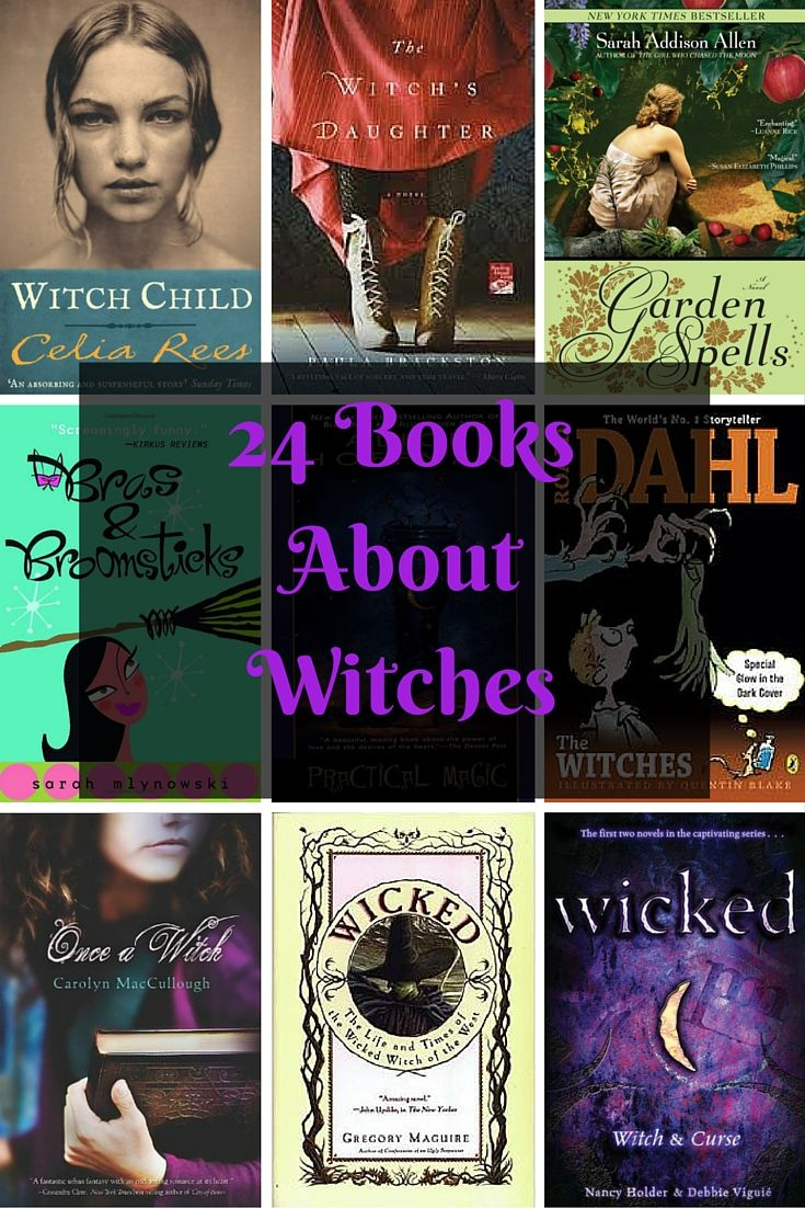 24 Books About Witches - Well, I plan on reading all the books on this list…