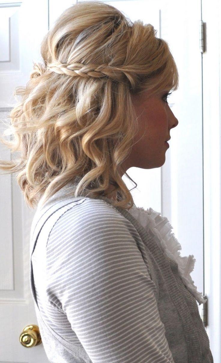 Beach Waves Hairstyle Short Hair Sunny Beach Waves For Short Hair In 2019 Simple Tricks Did Someon Hair Styles Medium Length Hair Styles Braids For Short Hair