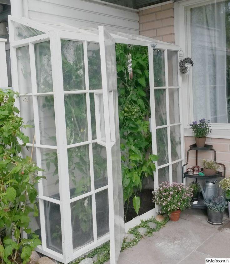 diy,kasvihuone,ikkunanpoka,oma kädenjälki,inspiroiva piha