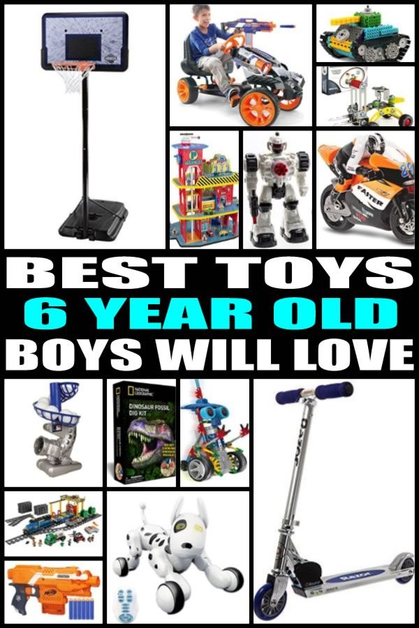Best Toys For 6 Year Old Boys Gift Guides Pinterest Gifts