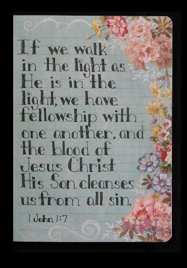 Home Sweet Life: 1 John 1:7
