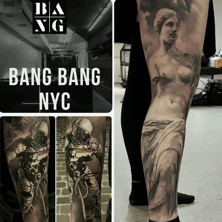 JP Wikman guestspot @bang bang Forever New York July 2016 #bangbang #bangbangtattoo #bangbangnyc #bangbangnewyork #bangbangforever