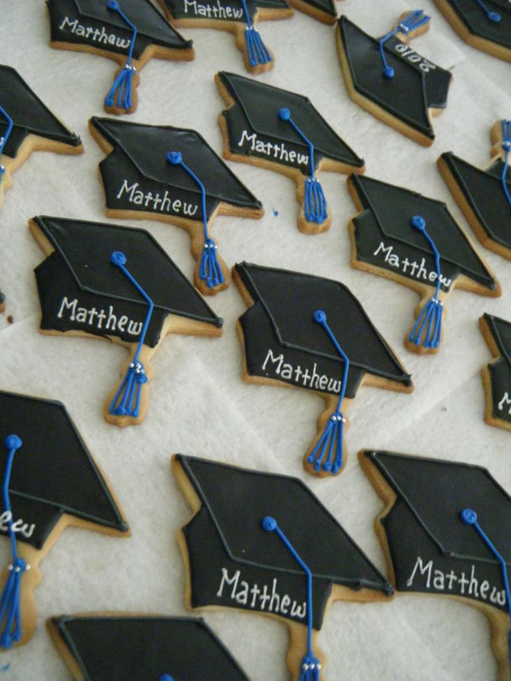 Graduation Party Cookies | Yuko's Cookies~: Cookies for the graduation party !