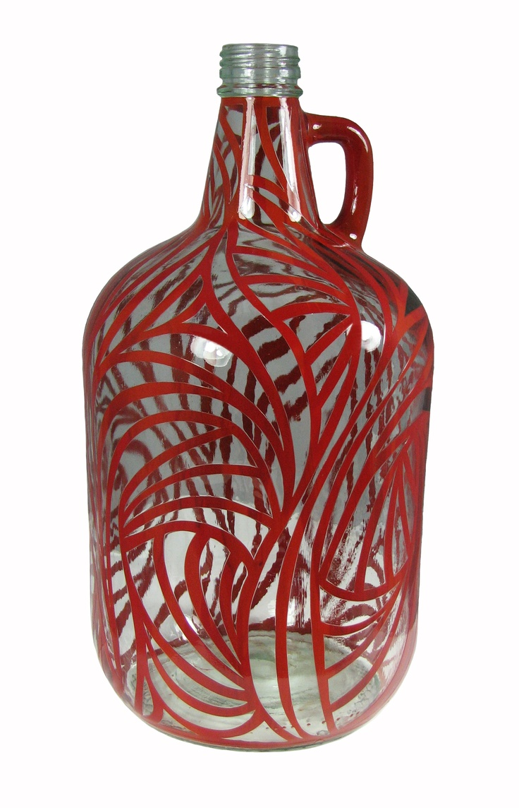 Carlo rossi bottle re invented diy for Glass bottle project ideas