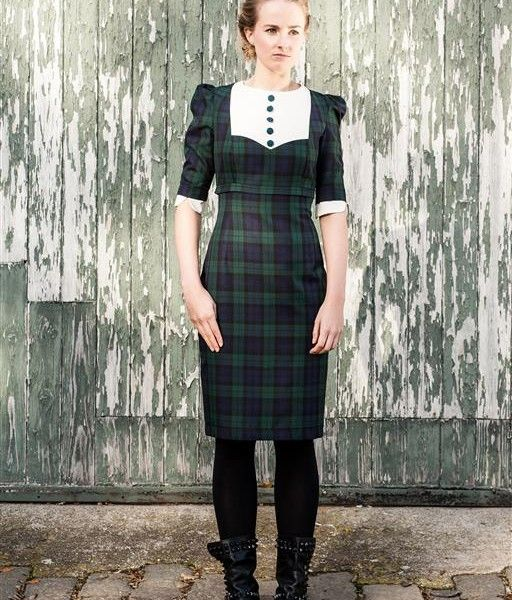 Totty rocks tartan dress plus