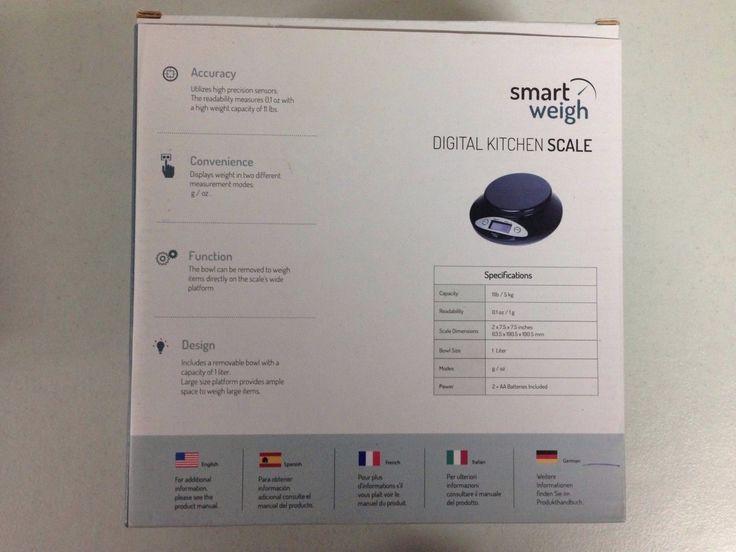 Digital Kitchen Weighing Scales