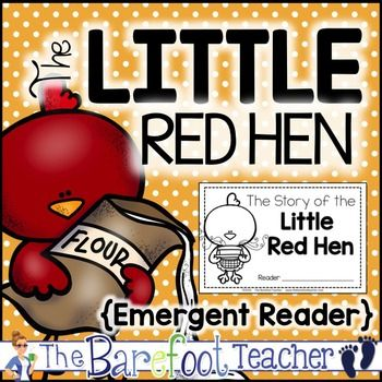 The Little Red Hen Emergent Reader FREEBIEYour littles will love having their very own kid-friendly version of The Little Red Hen to read on their own. You might also like: Fairy Tale Emergent Readers BundleMake sure you take a look at the thumbnails to get an idea of what the story and pages look like before you purchase! (More pages than shown are included in the download.)Like it?