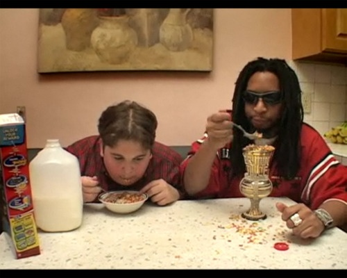 Just Lil Jon eating.