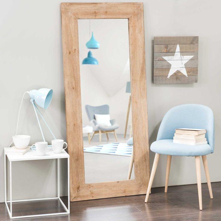 Miroir en orme recyclé H 160 cm KEY WEST