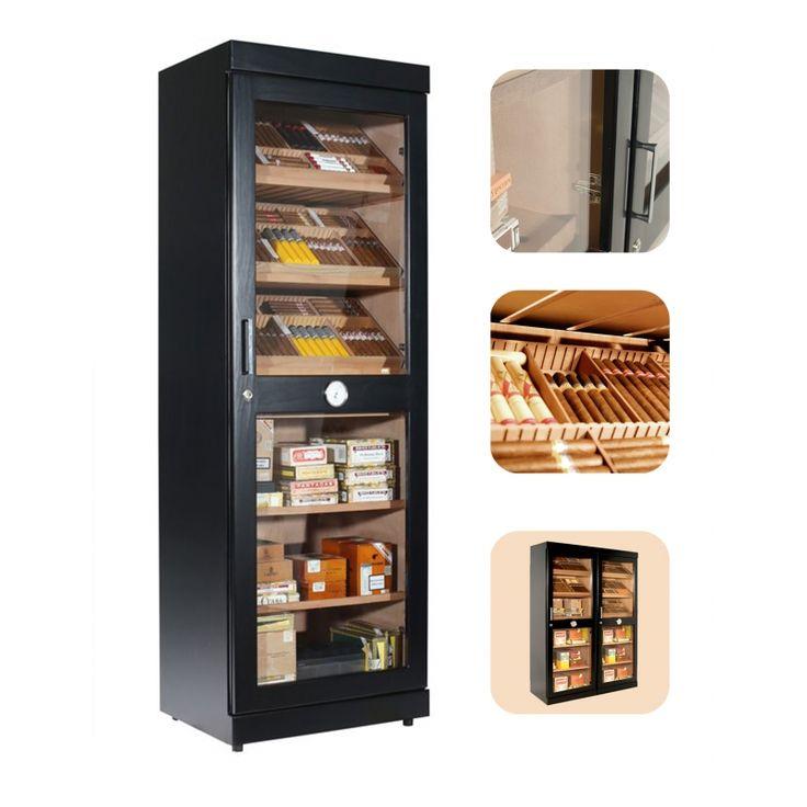 Humidor Cabinet adorini Roma (black) electronic humidor cabinet | Free Shipping | 11 Reviews