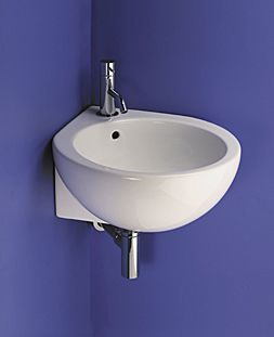 Corner Sink Small : Small corner sink. Im always looking for interesting shapes that can ...