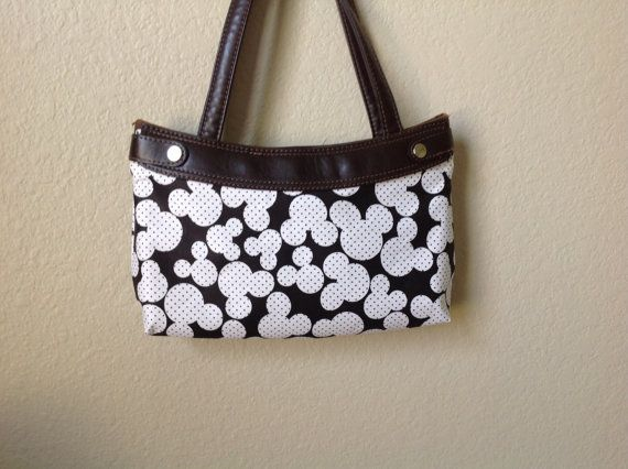 Mickey Mouse Black and White Thirty One Purse by ShellyJayneCovers, $14.00