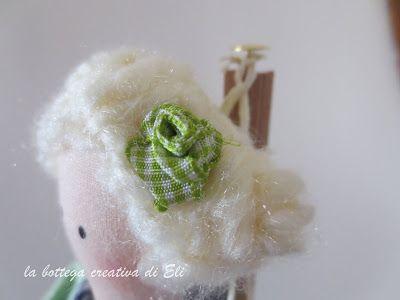 la bottega creativa di eli:  TILDA JANE AUSTEN #tilda #bambole #dolls #bonecas #cucitocreativo #rose