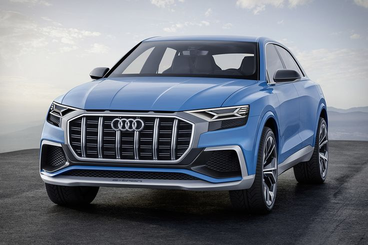 All concepts give us a glimpse of the future. With the Audi Q8 Concept, it happens to be the near future. It's powered by a plug-in hybrid system that marries a 3.0L petrol engine to an electric motor for a...