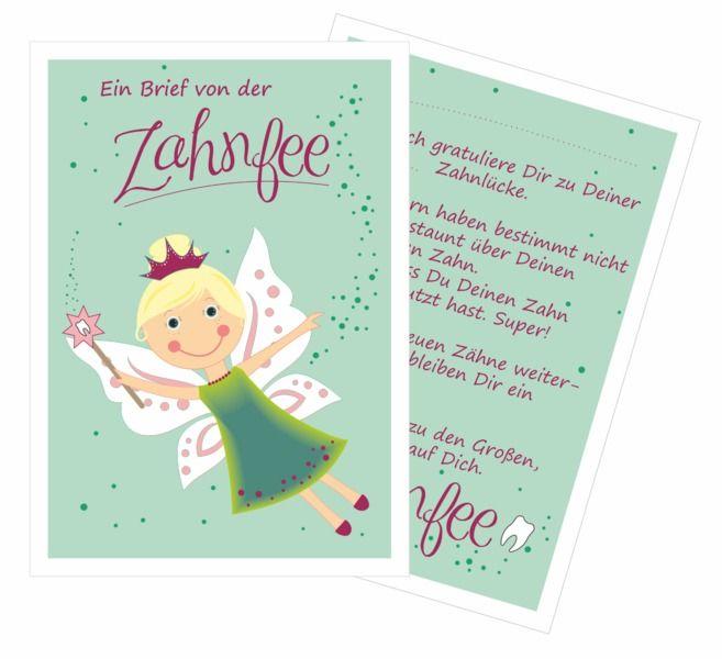 Zahnfee+Brief+von+Kestadt+auf+DaWanda.com