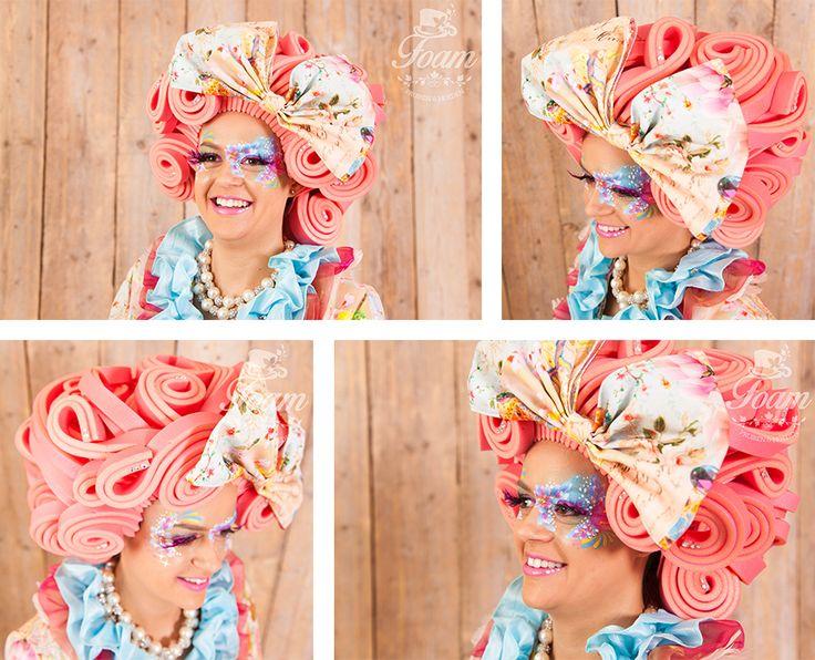 Foam pruiken zijn hoofddeksels die gedragen worden als vervanging voor het haar. Door het lichtgewichte karakter van foam en door het maatwerk van...