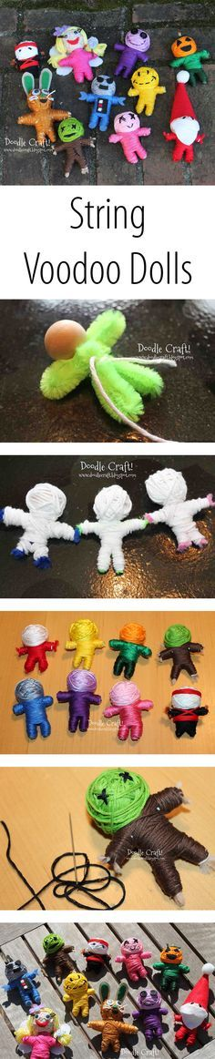 Make a string doll version of your favorite character.