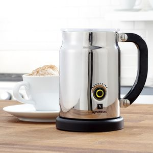 Nespresso Milk Frother. Pairs well with the Tazo Chai!