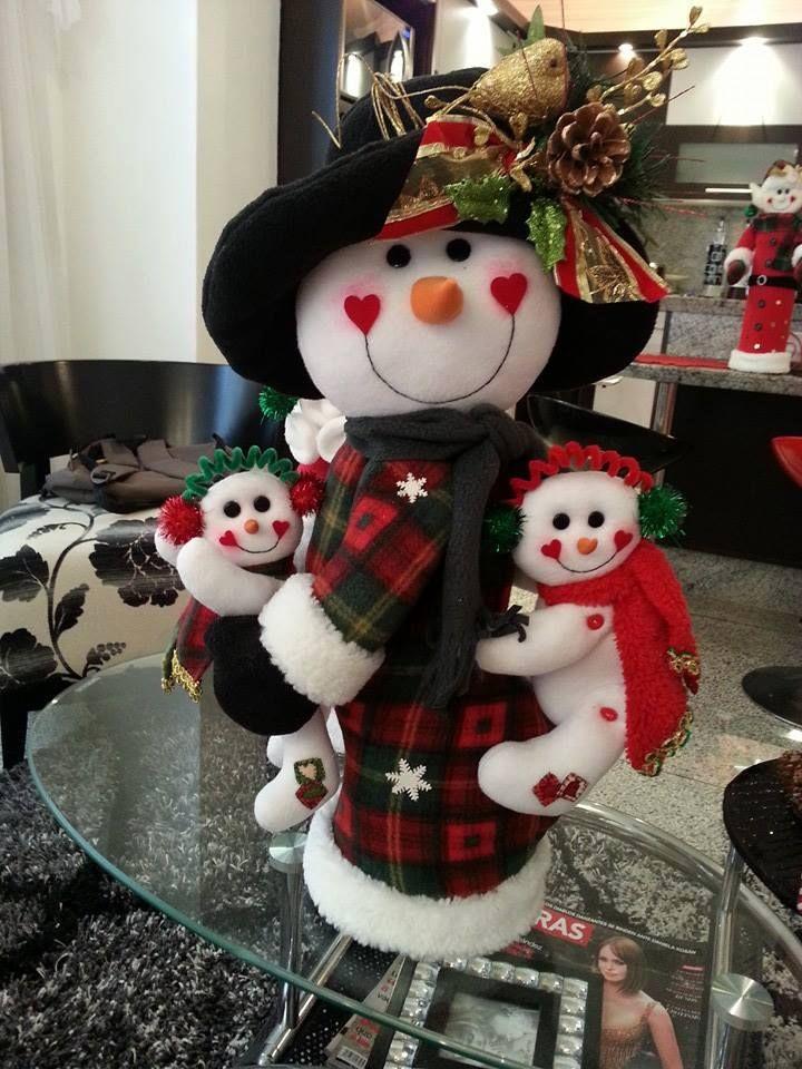 navideño famili nieve