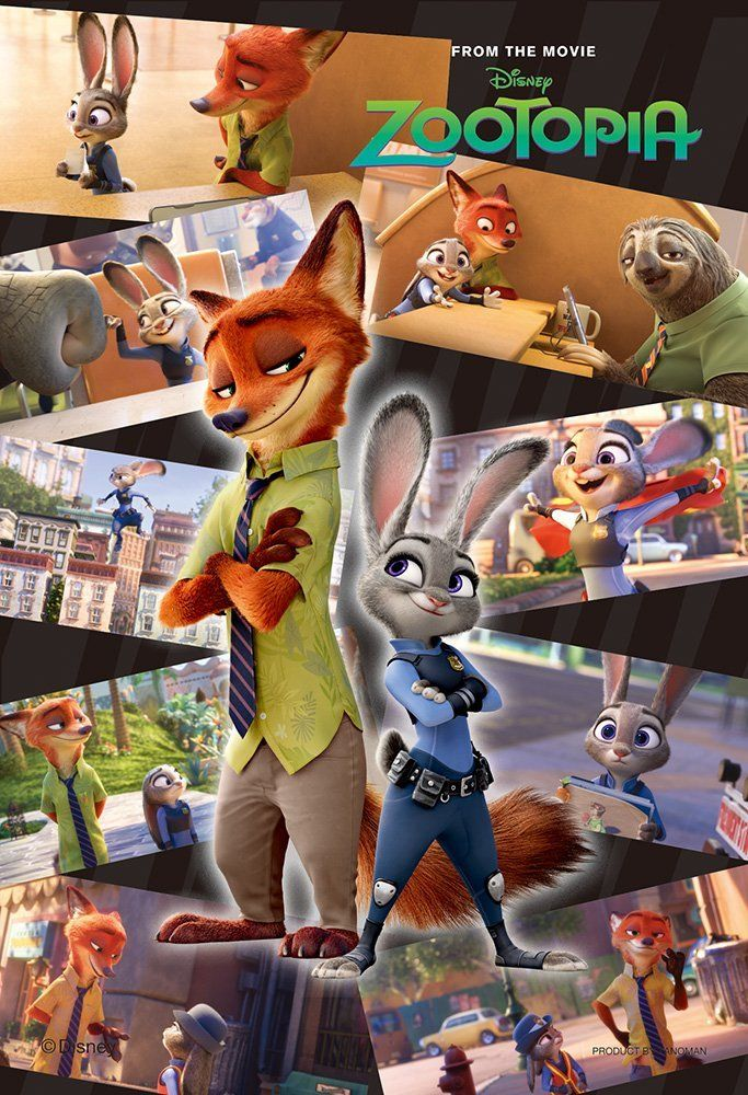 Zootopia is an amazing movie!!(( saw this movie with the FAMILY last weekend in Canada 3D..such a cute movie))