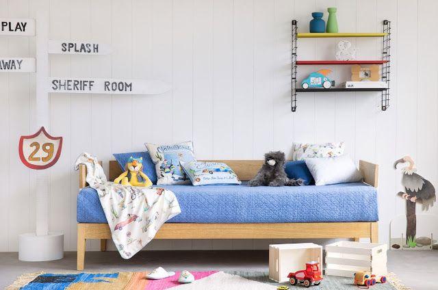 Arredare la cameretta dei bambini a tema viaggio. Ispirazioni low cost da H&M Home, Zara Home, Ikea e Maison du Monde.