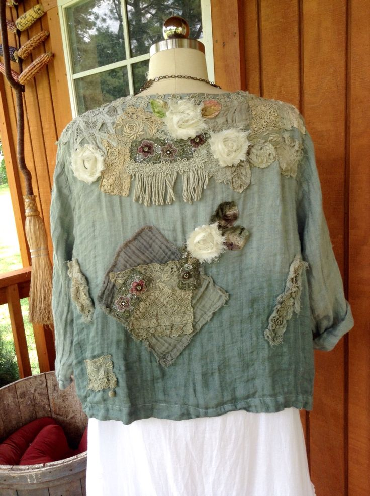 Art jacket on etsy