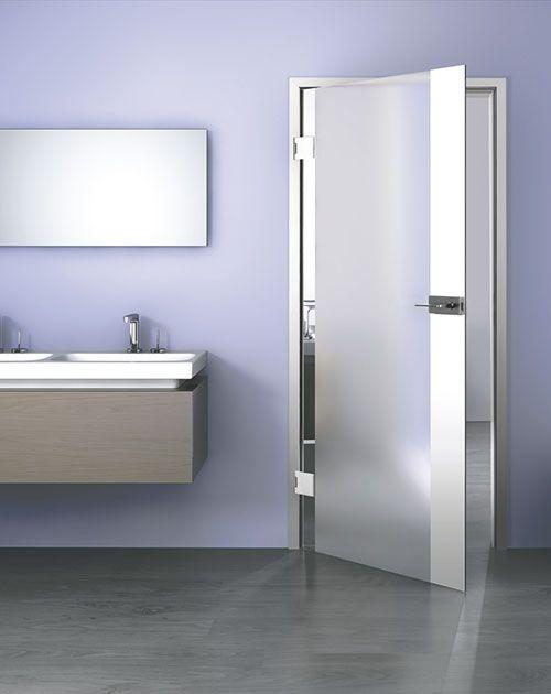imtrend: Glastüren fürs Bad | BEESondere Türen | Bad, Glas ...