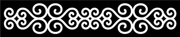 Swirl Border 2 - Free Cut Files