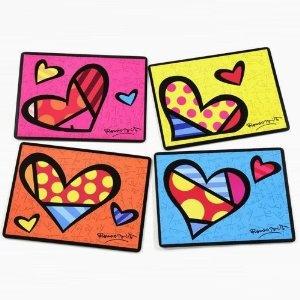 romero britto placemats.. so colorful and fun!