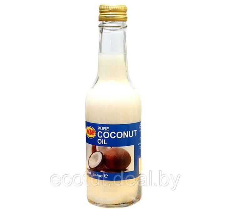 Масло Кокосовое KTC (coconut oil) рафинированное, 250 мл, цена 13 руб., купить в Минске — Deal.by (ID#17711557)