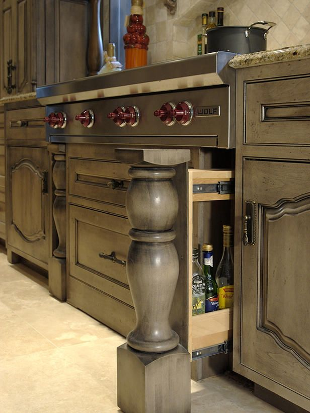 Kitchen Updates For Any Budget - this post has a lot of creative & inexpensive ways homeowners have updated their kitchens - HGTV: Hidden Storage, Kitchens, Kitchen Storage, House, Kitchen Ideas, Design, Kitchen Cabinets