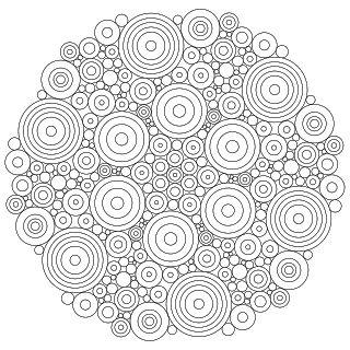 Don't Eat the Paste: Circles Mandala