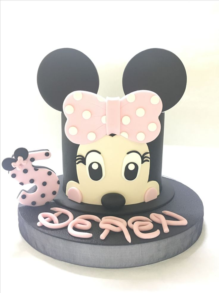 Minnie mouse cake Mini fare pasta Didem Kaçar Pasta&Kurabiye Didem Kaçar Cake&Cookie
