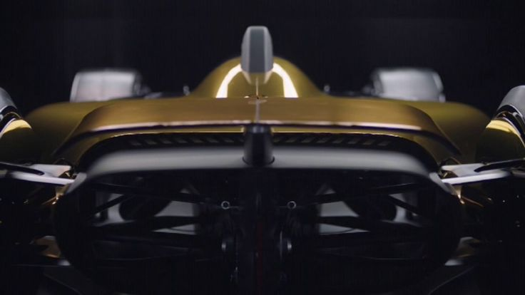 Future of F1: Renault R.S. 2027 Vision concept car