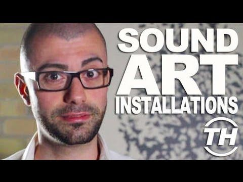 Sound art installations: http://www.trendhunter.com/trends/sound-art-installations Sound art installations come in various forms, and this metallic ball piec...