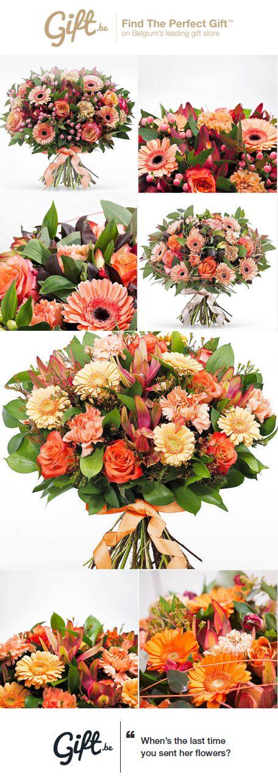 Onze bloemisten binden elk boeket met dagverse bloemen voor u op maat. In de loop van de dag kan u bloemen bestellen om deze de volgende dag of op een latere datum te laten versturen. Vanaf €50 is de levering van uw boeket bloemen, van maandag tot vrijdag, gratis.