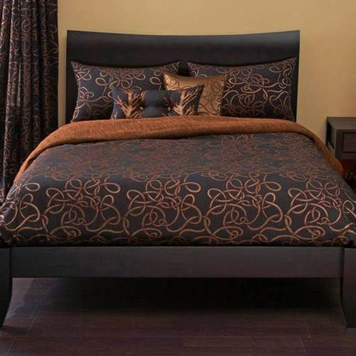Michael Payne Twisty Vine Copper Bedding By Michael Payne