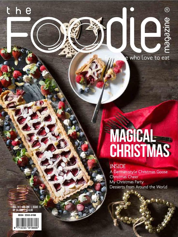 The Foodie Magazine - December 2014
