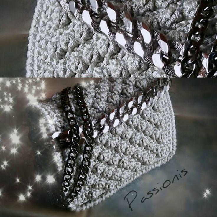 "Passionis handmade accessories (@passionis_handmade_accessories) στο Instagram: ""....adore it.... #passionis_handmade_gr  #handmadeisbetter #crochet #handbag #madeingreece…"""