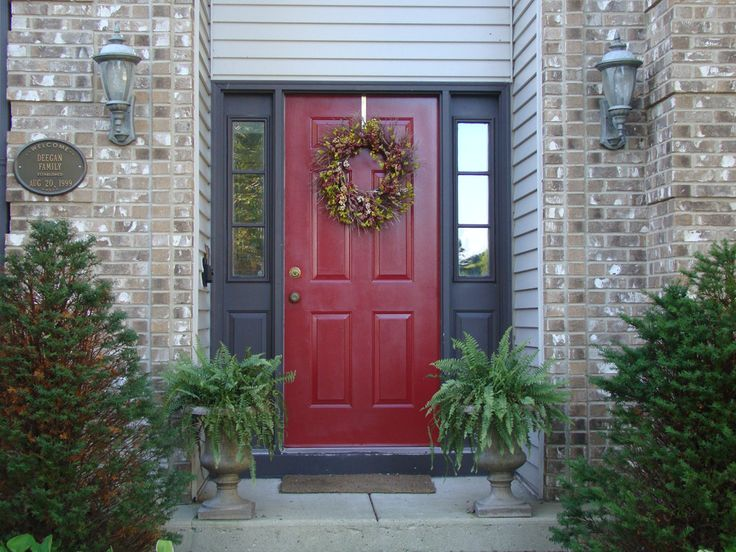 Best Exterior Job Images On Pinterest Red Doors Front Entry - Used front doors