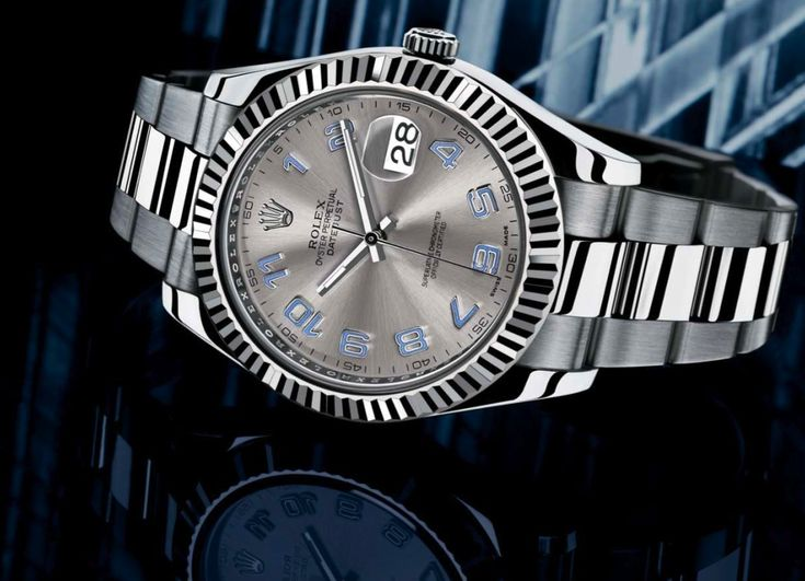Rolex Oyster Perpetual Datejust II. Bulky and elegant, it is a perfect fit for a strong arm. Worn by people in sport and business, the Rolex Datejust II Rolesor timepieces are symbols of successful person.