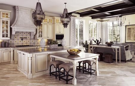 21 best lavish homes kitchens images on pinterest for Lavish kitchen designs