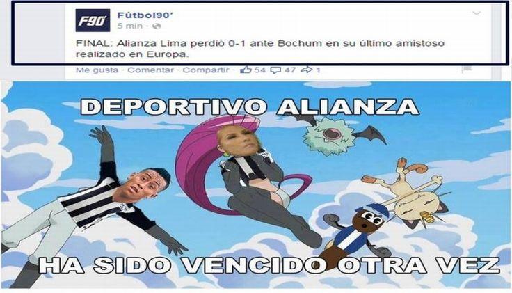 Alianza Lima: Se burlan con memes de sus derrotas en España