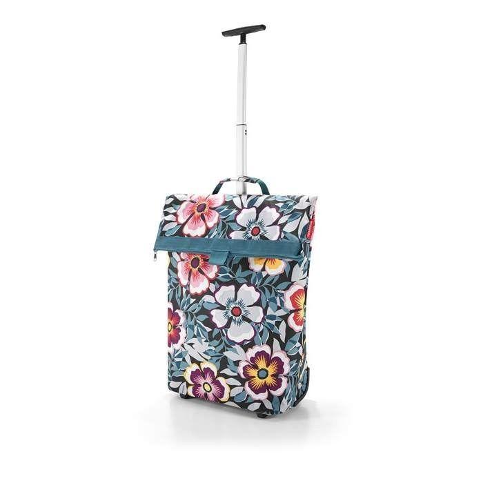 Wózek na zakupy Reisenthel Trolley M 43l, flower | sklep PrezentBox - akcesoria, zegary ścienne, prezenty