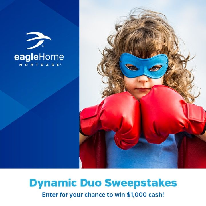 On June 5th, our two mortgage companies will be uniting as one! Universal American Mortgage Company will become Eagle Home Mortgage . We are celebrating with them the entire month of June and giving you the chance to win $1,000 cash! Enter here: http://spr.ly/64978YCg9